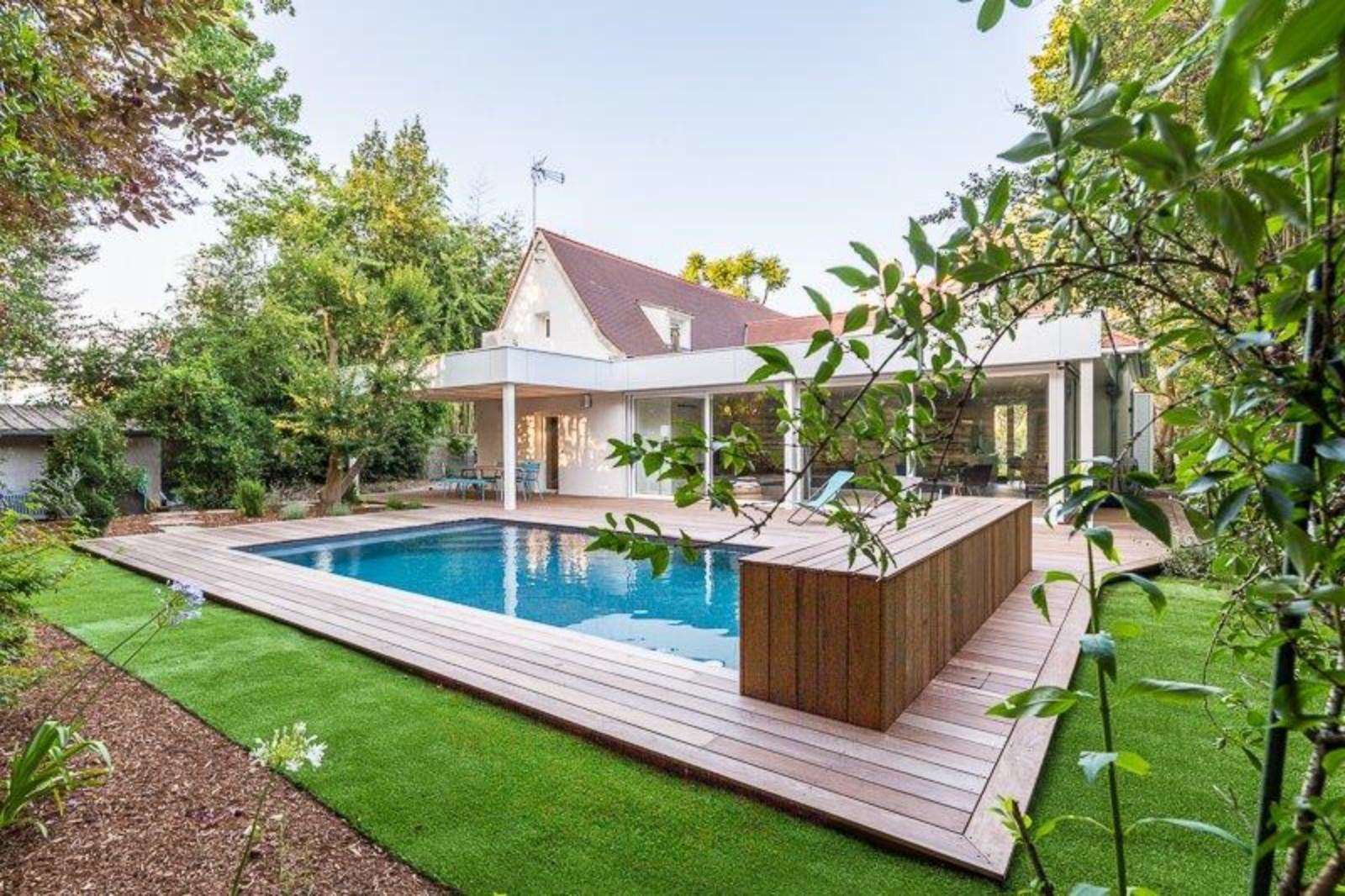 Extension Maison Piscine Couverte extension et rénovation habitation avec piscine à bordeaux